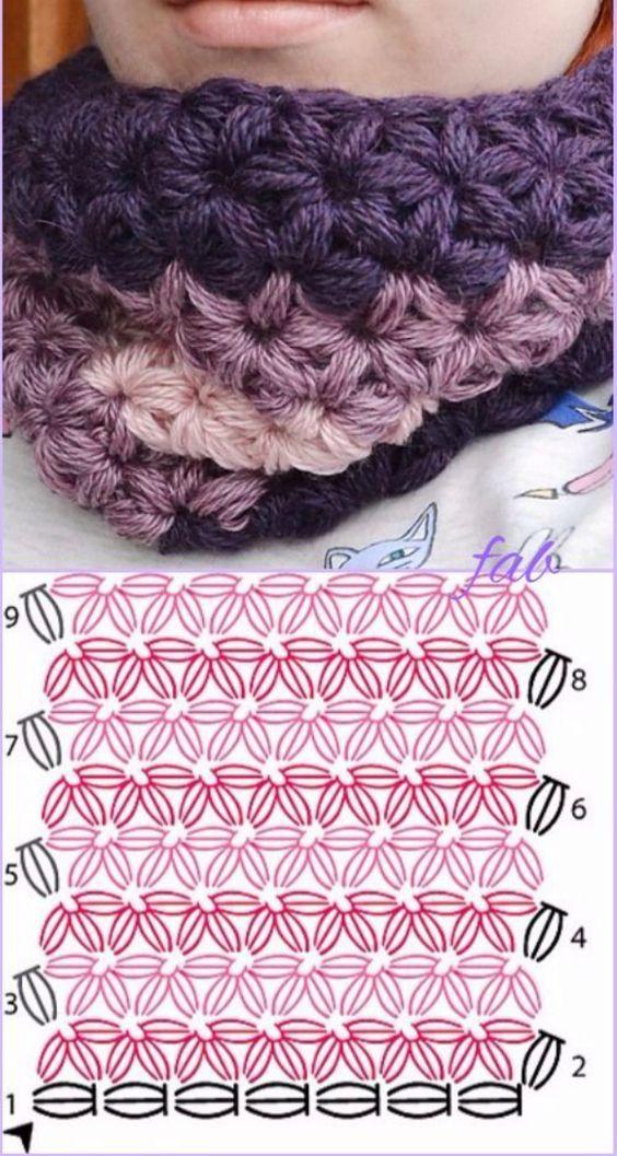 star stitch knitting pattern 9