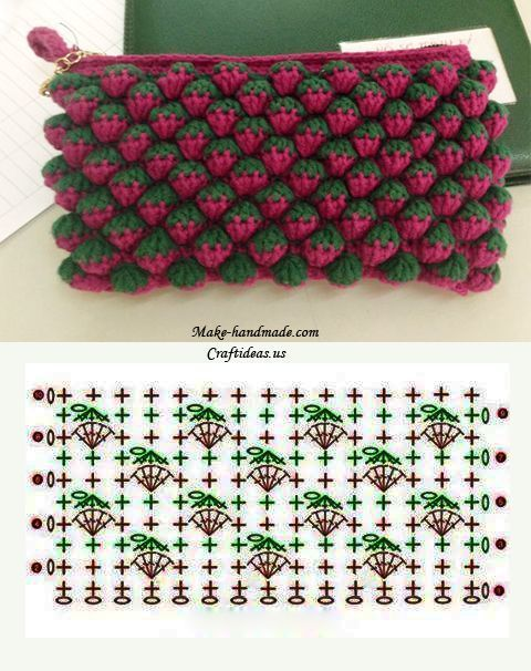 strawberry crochet stitch ideas and tutorials 10