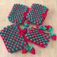 strawberry crochet stitch ideas and tutorials 3