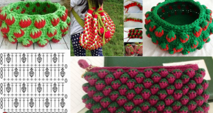 strawberry crochet stitch ideas and tutorials