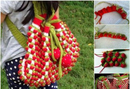 strawberry crochet stitch ideas and tutorials 4