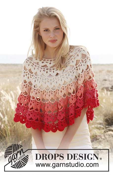 Summer Poncho Free Crochet Patterns