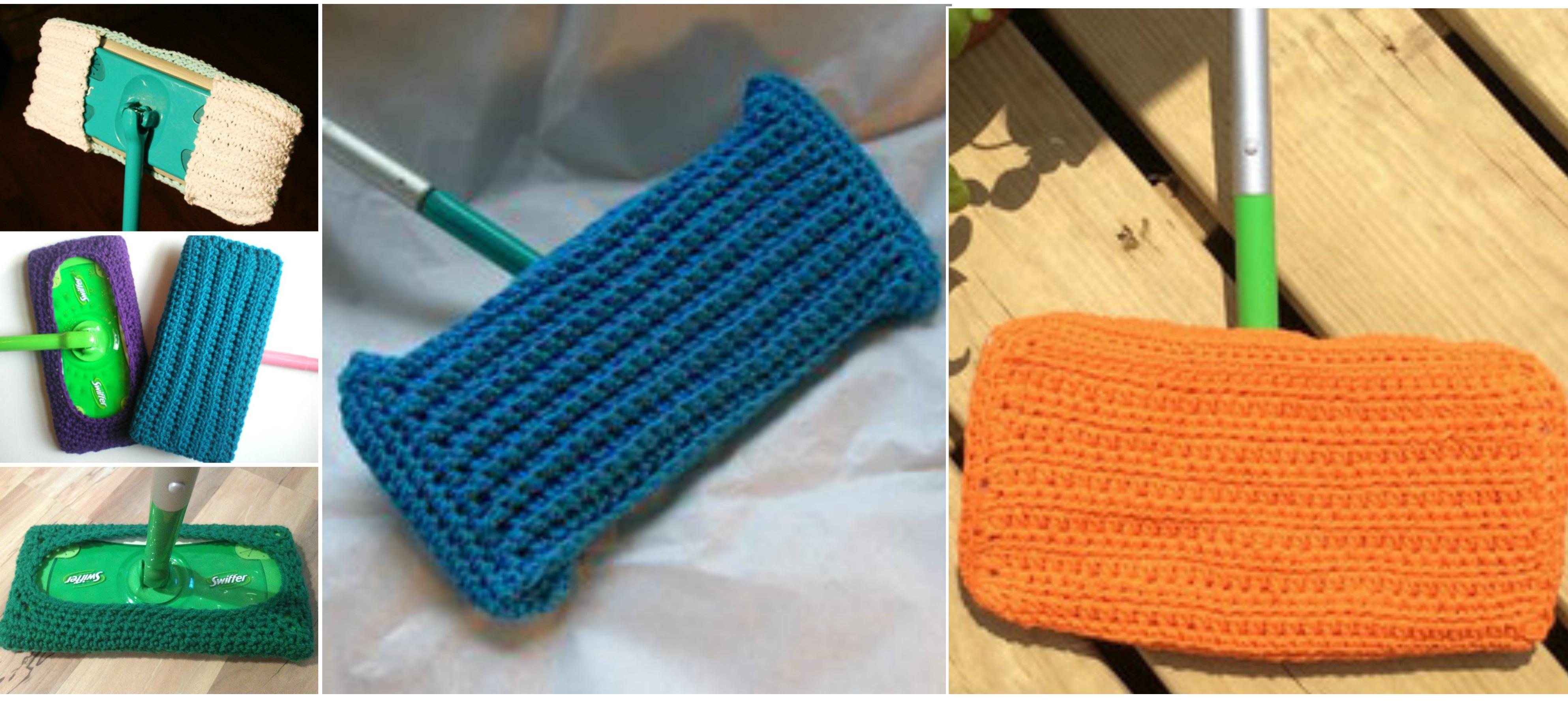 Crochet Reusable Swiffer Pad