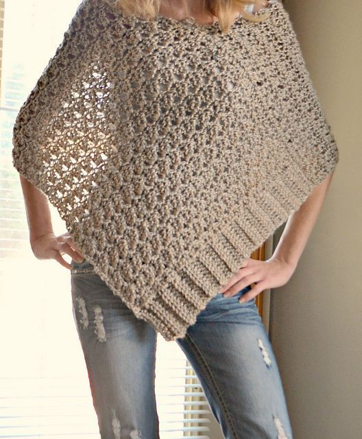 tuto Poncho crochet 7